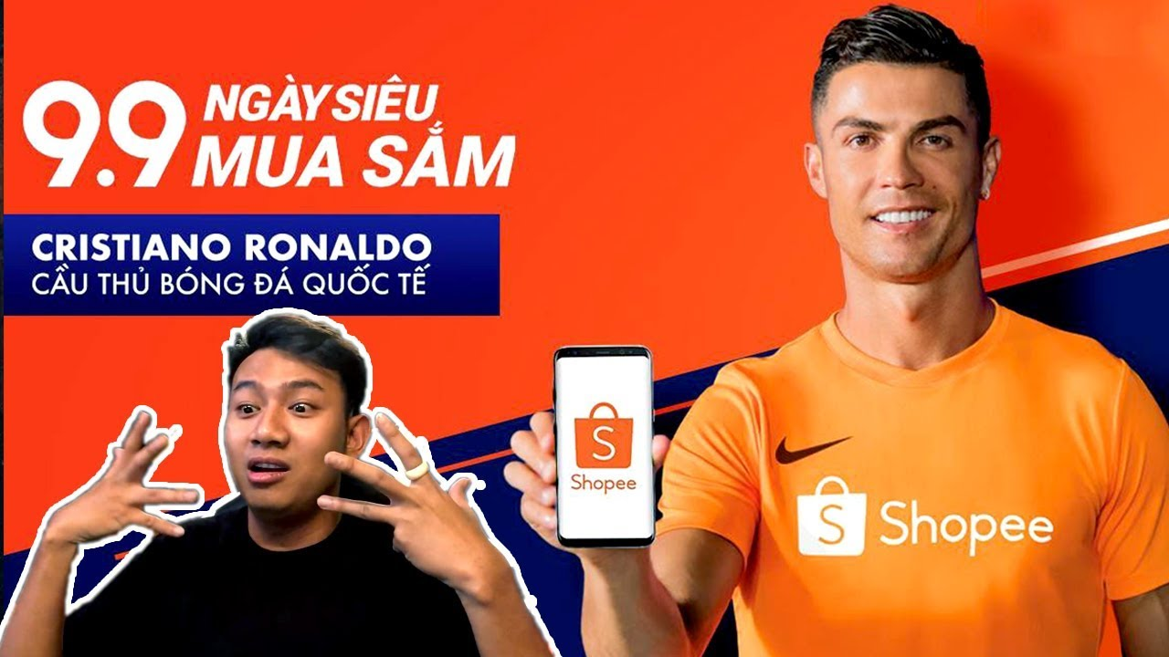 BLACKBI đứng hình khi xem CR7 nhảy | BLACKBI reaction TVC Shopee Super Shopping Day 9.9