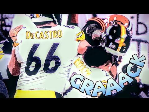Borasio - The Steelers vs Browns Rivalry turns into Thursday Night Foot-BRAWL !