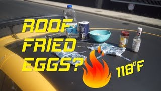 Can an Egg Fry on my Car