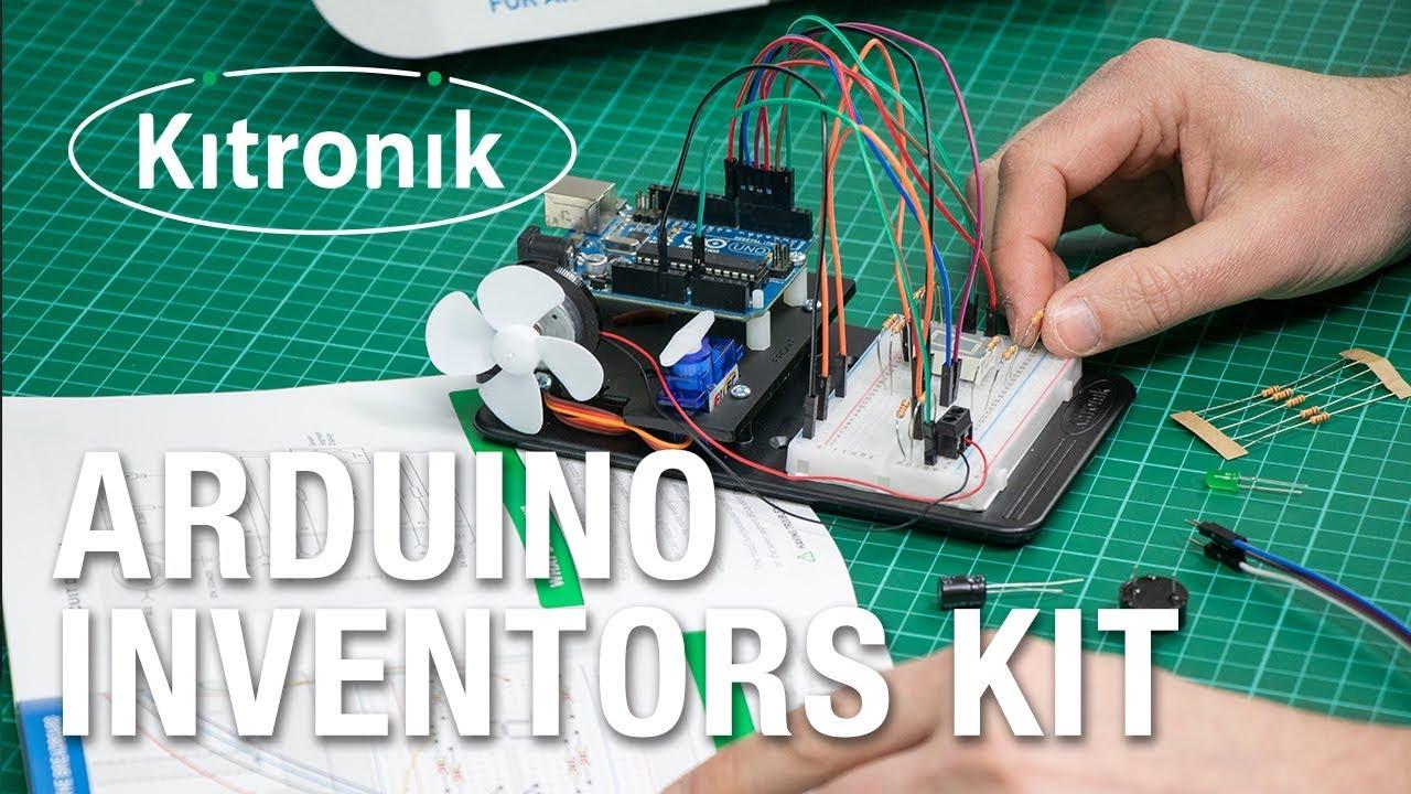 Inventors Kit for Arduino by Kitonik
