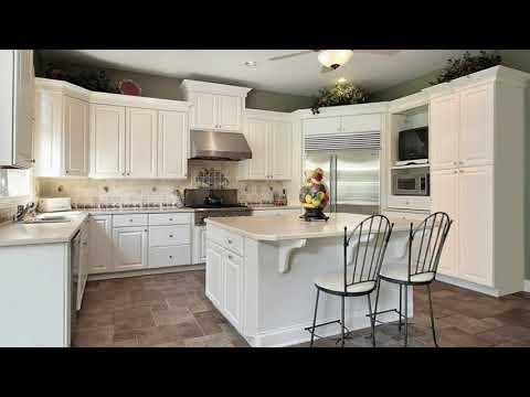 White Kitchen Cabinets With Granite Countertops - Small Kitchen Ideas