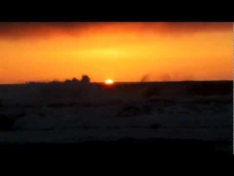 Sunset from Oceano, California 11-18-2012