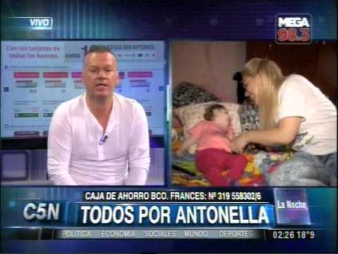 C5N - LA NOCHE: CRUZADA POR ANTONELLA