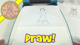 Project Runway Fashion Design Projector Set Drawing Toy Fashion Angles Youtube