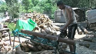 Cięcie drewna asystent