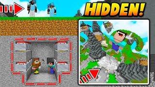HIDDEN TNT MINECART TRAP! - Minecraft SKYWARS TROLLING (INSTANT LAUNCH!)