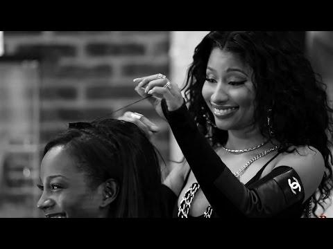 Nicki Minaj in 'Barbershop 3' Behind-the-Scenes Peek!