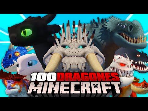 100 DRAGONES de