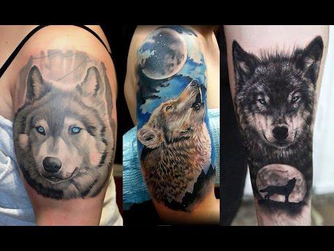 Diseños De Tatuajes De Lobos Para Hombres Ideas De Tatuajes De