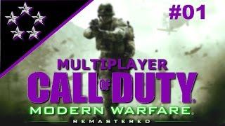 Modern Warfare Remastered Multiplayer #001 - Meine erste Runde - Call of Duty Deutsch