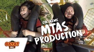 GAYAT WEI | Cik Azme, MTAS Production tersembur AIR LIUR menaiki G-Force X, Sunway Lagoon? [EP 01]