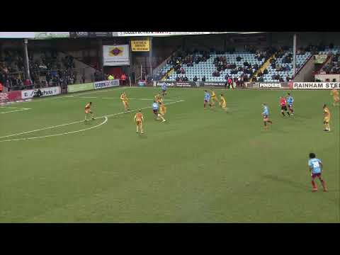 Scunthorpe Crewe Goals And Highlights