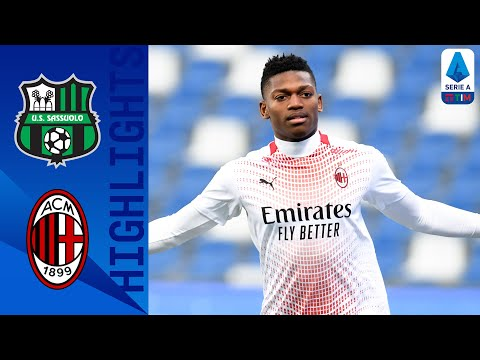 Sassuolo AC Milan Goals And Highlights