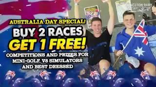 Happy Australia Day Specials NOW ON! | Kingston Park Raceway Best Go Karting Brisbane Gold Coast