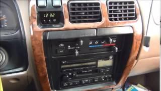 Купил старенький джип, Toyota 4Runner. Канада.