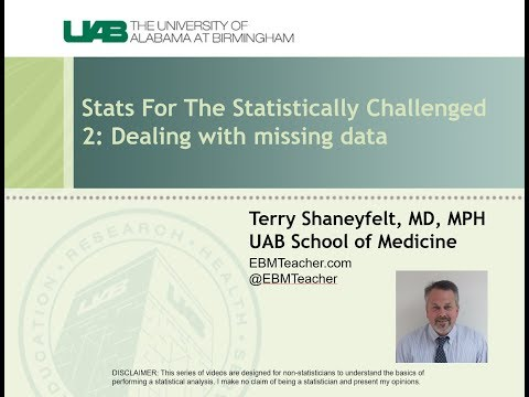 2: Dealing With Missing Data