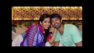 Arnav Singh Raizada(Barun Sobti) with wife Pashmeen Manchanda