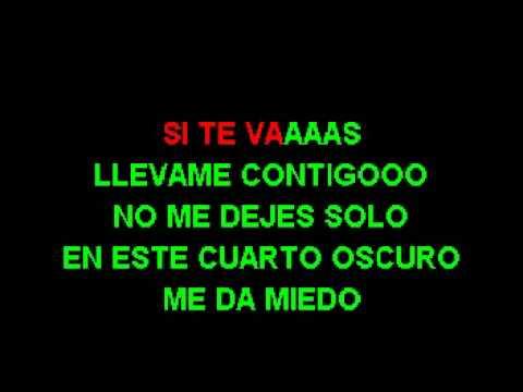 Elvis Martinez - No Te Vayas KARAOKE POR JACKSON KARAOKE