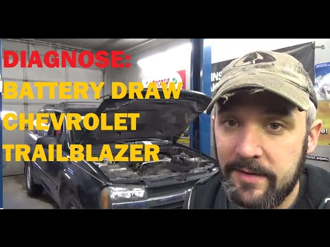 Diagnose Battery Drain / Parasitic Draw - Chevy Trailblazer - YouTube