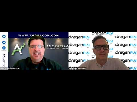 Draganfly CEO Cameron Chell speaks with AGORACOM