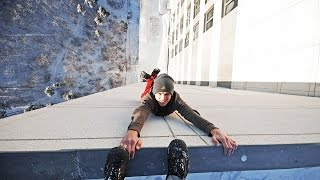 видео Выжил упав с 20 этажа на Land Cruiser