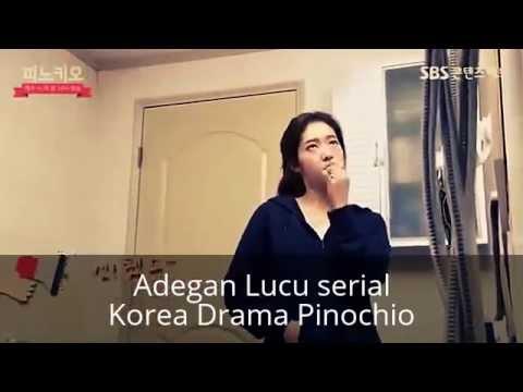 Lucu  Syuting Serial Korea  Drama Pinochio dan Kelucuan