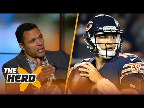 Tony Gonzalez joins Colin to talk Mitchell Trubisky, struggling Steelers and Dak Prescott | THE HERD