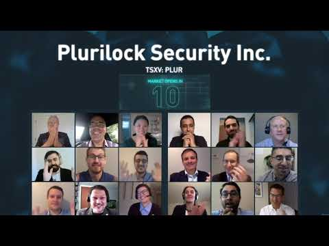 Plurilock Security Inc. Virtually Opens The Market, September 25, 2020