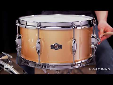 George H. Way 14x7 Studio Snare Drum - Gold Gloss (GW714S-12G)