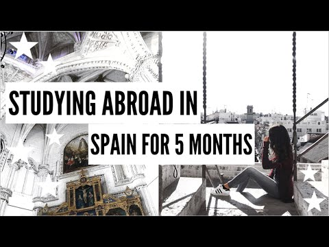 STUDYING ABROAD IN SPAIN || Pack & Travel With Me+ My First Week Abroad Vlog!