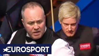 Robertson & Higgins' Table CONTROVERSY | Ronnie O'Sullivan & Neal Foulds Analysis | Eurosport