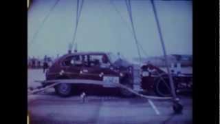 Honda Civic | 1975 | Frontal Crash Test | NHTSA | CrashNet1
