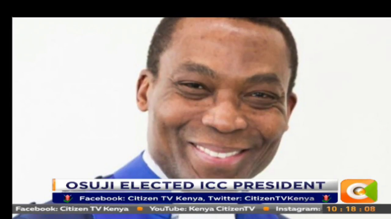 Citizen Extra: ICC Judges have elected Judge Chile Eboe-Osuji as the new ICC president
