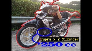 Download Video HONDA SUPRA X 125R, 2 SILINDER 250cc #oM2s MP3 3GP MP4
