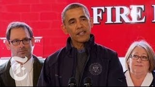 Washington Landslide 2014: Obama Speaks to First Responders | The New York Times