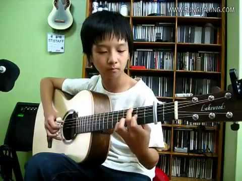 Shun Komatsubara) Love Song   Sungha Jung Acoustic Tabs Guitar Pro 6