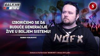 INTERVJU: Marko Vidojković - Izborićemo se da buduće generacije žive u boljem sistemu! (23.2.2019)