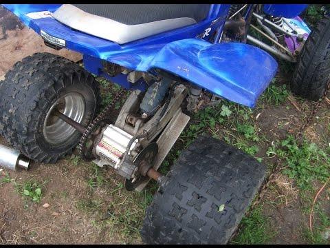 Raptor 660 axle bearing removal | How to remove axle hub bearings