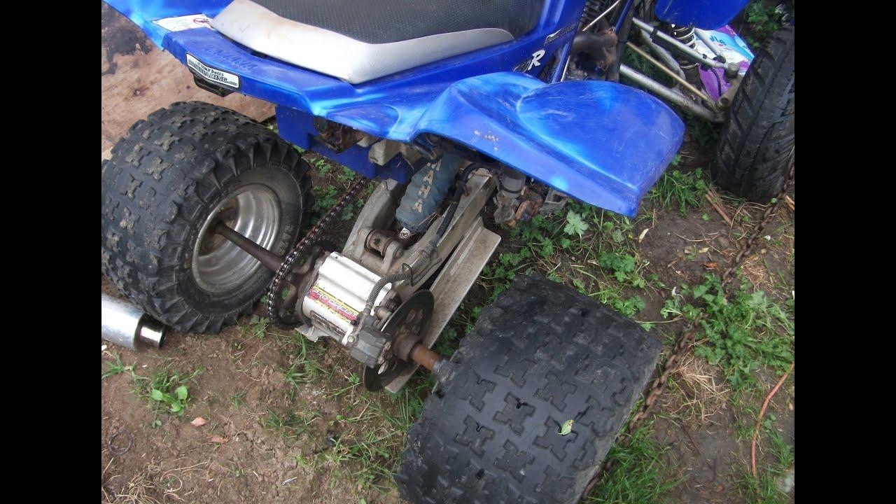 Yamaha Raptor  Rear Axle