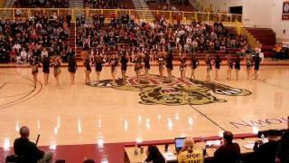 KU Dance Team Gold Halftime - Adele (2/22/12)
