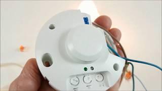 Mikrofalowy czujnik ruchu MCR-02