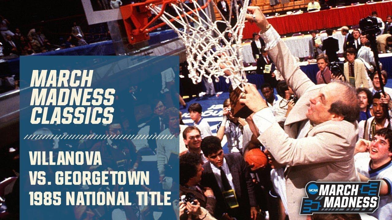 Villanova vs. Georgetown: 1985 National Championship | FULL GAME