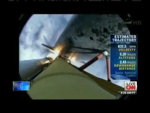 STS-135 Launch Presentation CNN Live Coverage