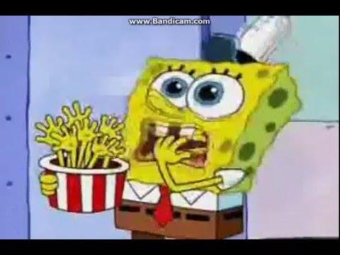 Spongebob Eating Food
