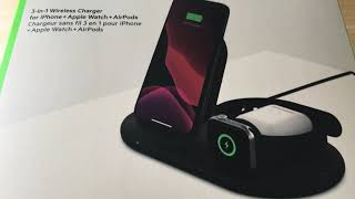 Belkin 3-in-1 Wireless Charger for iPhone Apple Watch AirPods 6-25-20