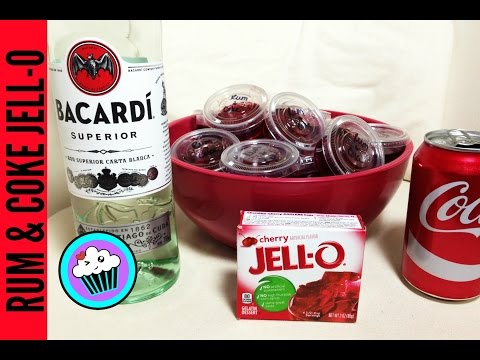 How To Make Rum And Coke Jell-O Shots | Pinch Of Luck