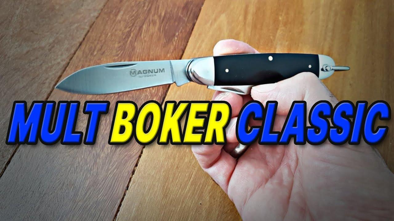 Multi Tool Raiz Boker Classic Pocket Steel