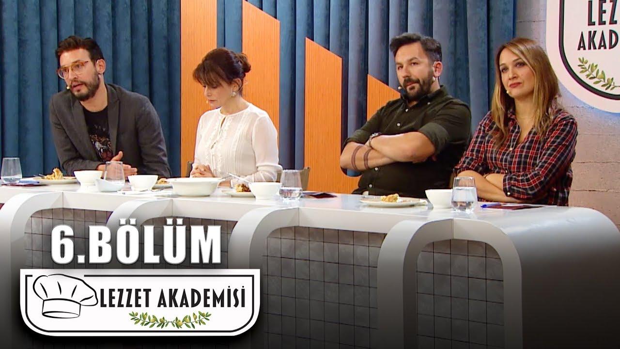 Lezzet Akademisi 6.Bölüm (Tek Parça Full HD)