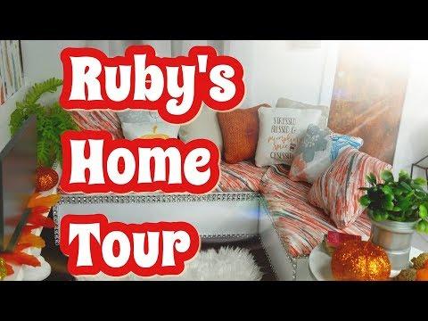 Ruby's home tour/ Fall decor