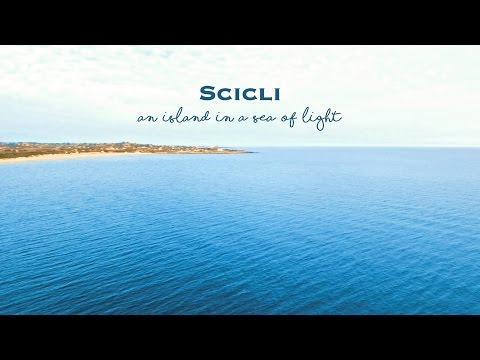 Scicli - An island in a sea of light
